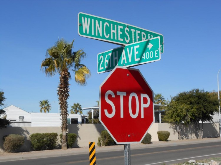 City of Apache Junction, Arizona Traffic Sign Inventory